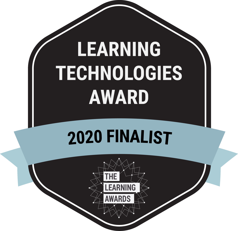 LPI Learning Technologies Award Finalist 2020