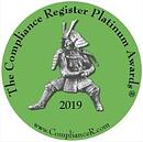 Compliance Register Platinum Awards 2019
