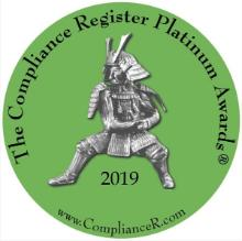 Compliance Register Outstanding Firm of 2019