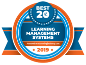 eLearning Industry 20 Best LMS 2019