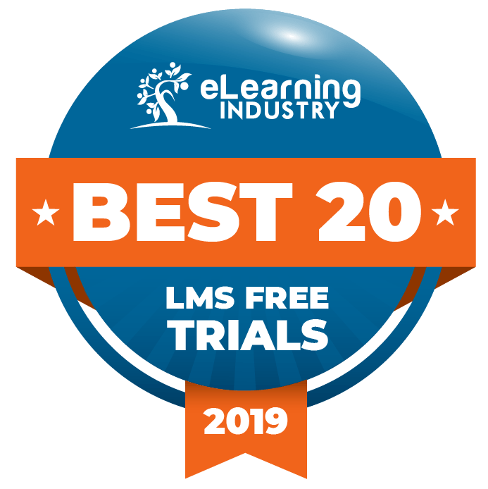 eLearning Industry Top 20 Free LMS Trials 2019