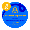 eLearning Industry Top 20 LMS CX 2020