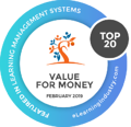 eLearning Industry Top 20 Value for Money