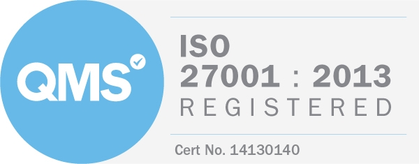 ISO 27001 Registered Information Security (ISMS)