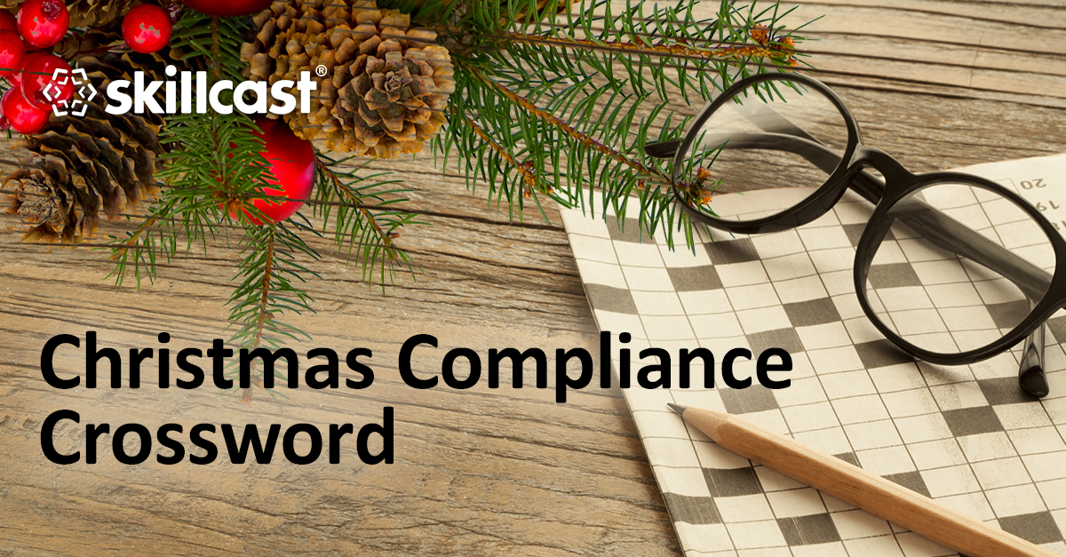 Christmas Compliance Crossword