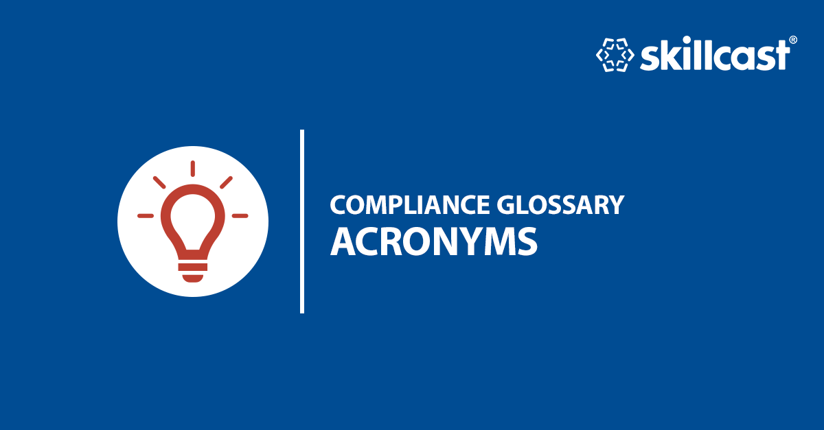 Compliance Acronyms