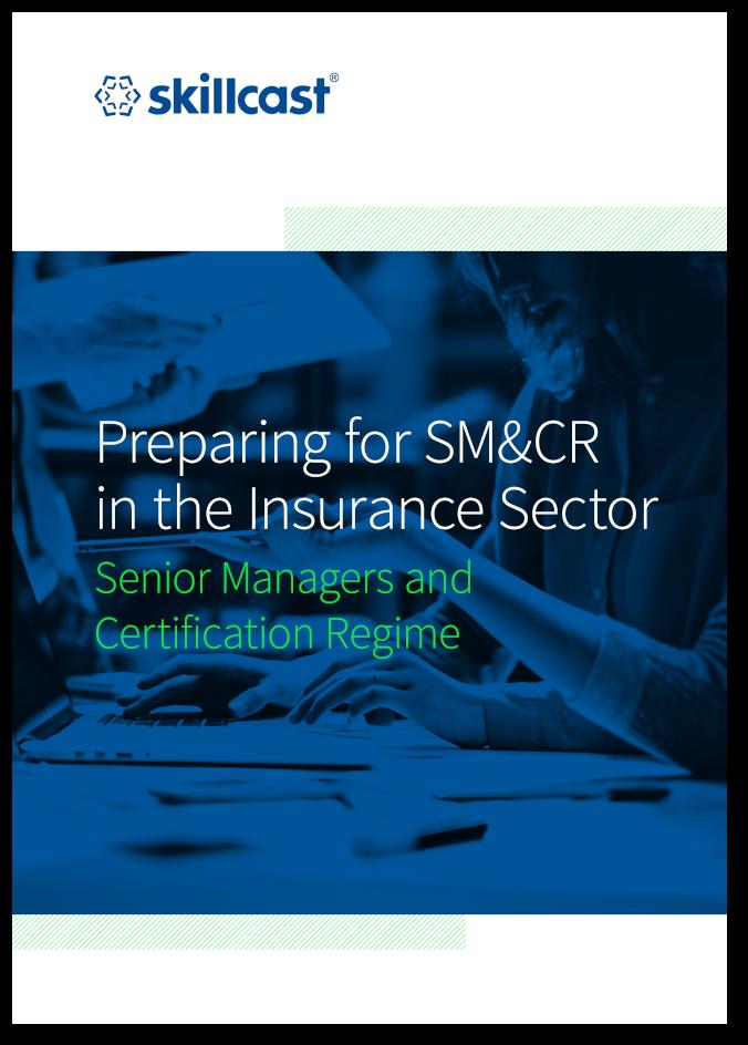 Skillcast SM&CR A4 Cover