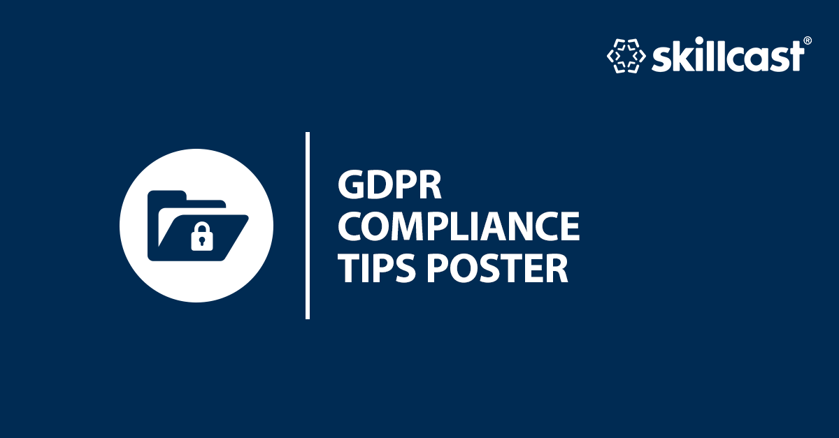GDPR Compliance Tips Poster