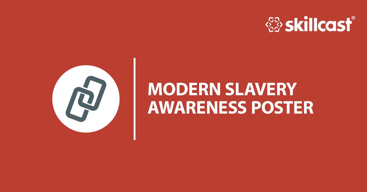 Modern Slavery Awareness Poster