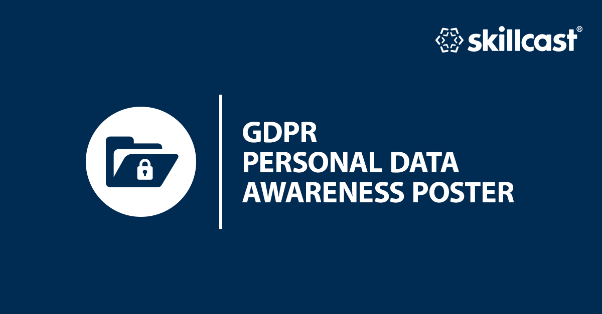 GDPR Personal Data Awareness Poster