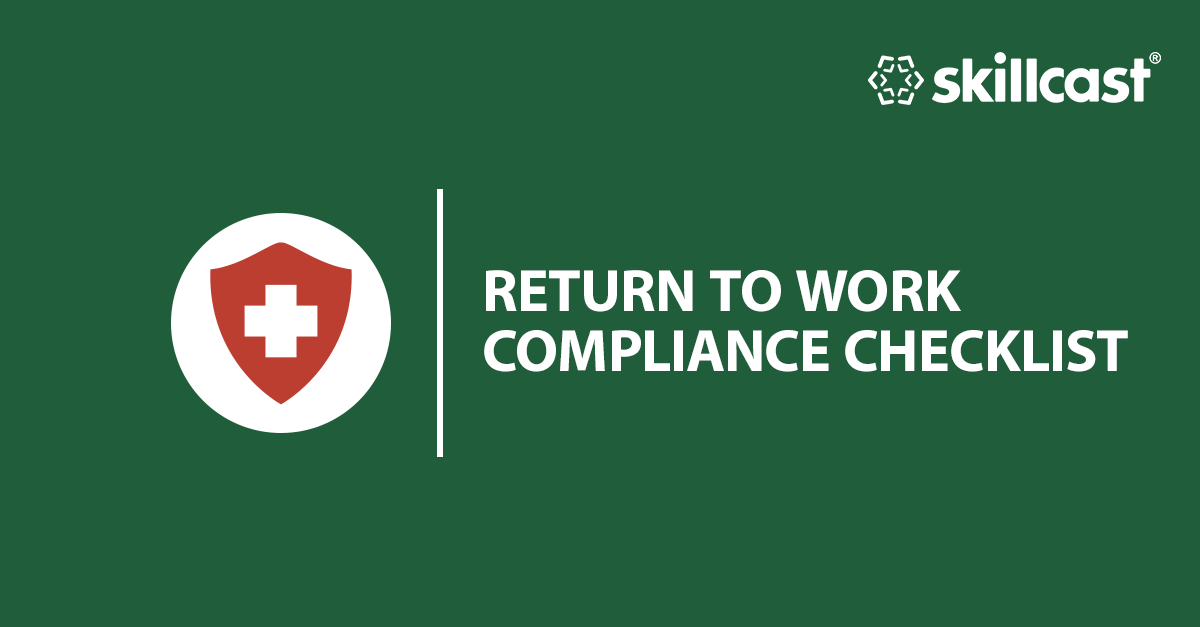 Return to Work Compliance Checklist