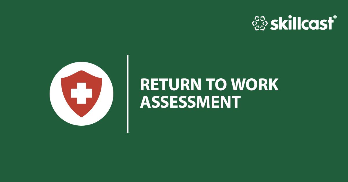 Return to Work Online Assessment