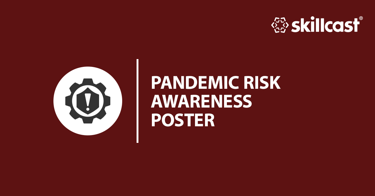 Pandemic Risk Office Awareness Poster