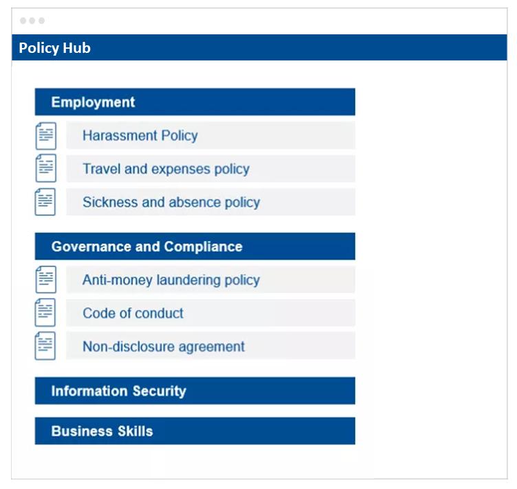 Policy Hub Documents