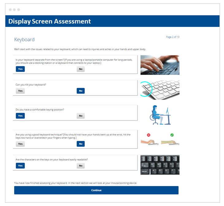 Skillcast DSE Assessment