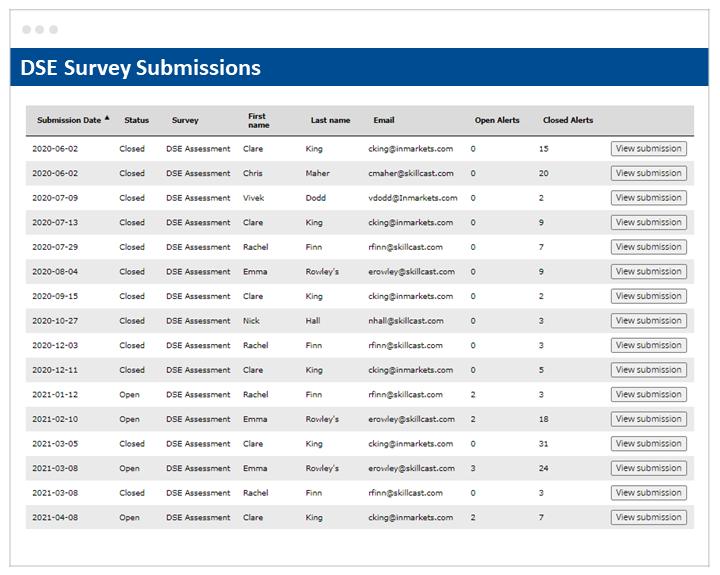 DSE Survey Submissions