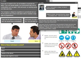 Working Safely compliance e-learning