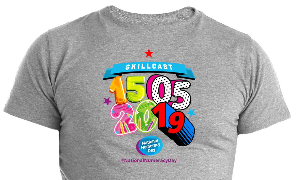 Skillcast_National_Numeracy_Day-placements_on_tshirt_2019_cropped