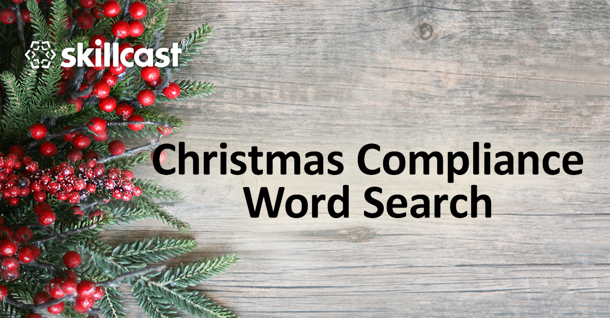 Christmas Compliance Word Search