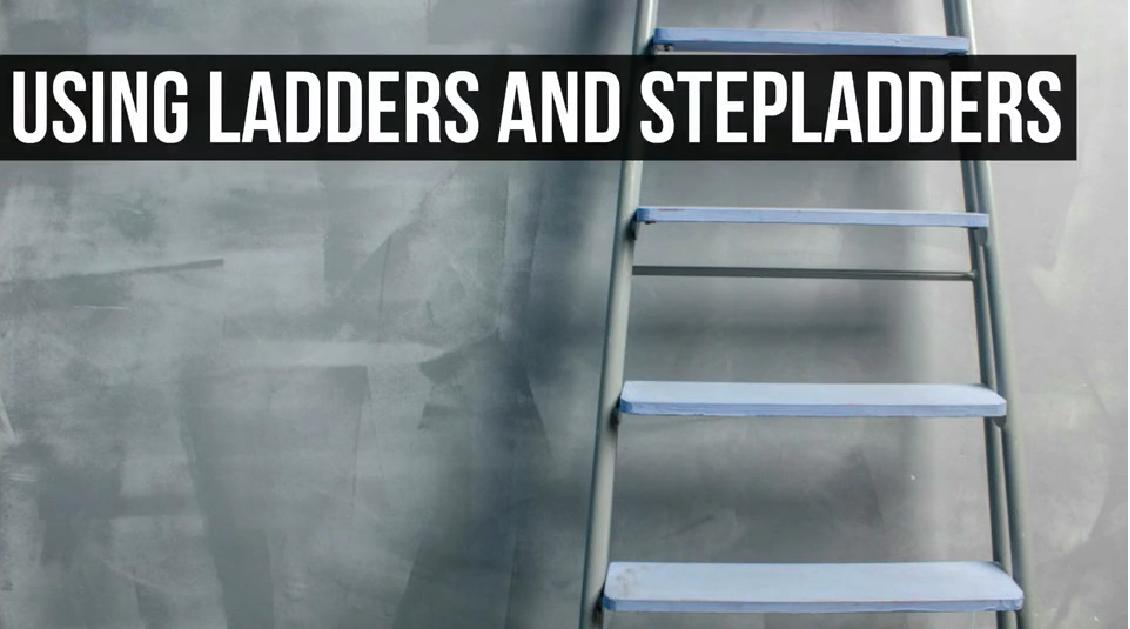Ladder and Stepladder Use